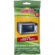 Салфетки влажные «Guten Tag» для СВЧ и холодильников, 20 шт.