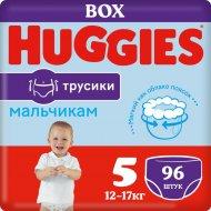Трусики-подгузники, для мальчиков «Huggies» размер 5, 13-17 кг, 96 шт.