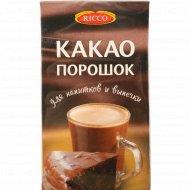 Какао-порошок «Ricco» для напитков и выпечки, 100 г.