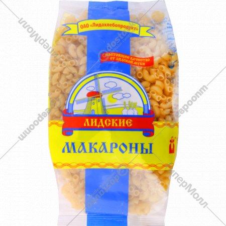 Макаронные изделия «Лидские» рожки обыкновенные, 550 г.