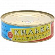 Килька балтийская, неразделанная, в томатном соусе, 230 г.