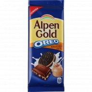Шоколад молочный «Alpen Gold Оrеo» 95 г.