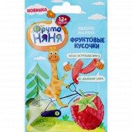 Фруктовые кусочки «Фруто Няня» из яблок и малины, 15 г.