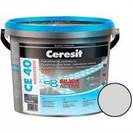 Фуга «Ceresit» СЕ 40, платина, 2 кг