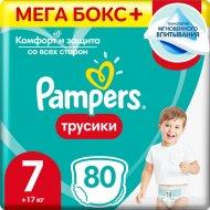 Подгузники-трусики «Pampers» Pants 17+кг, размер 7, 80 шт.