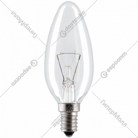 Лампа накаливания «Свеча» 40W E14, 8109001.