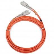 Сетевой кабель оптический «Gembird» CFO-SCSC-OM2-5M