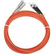Сетевой кабель оптический «Gembird» CFO-STSC-OM2-1M