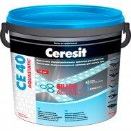 Фуга «Ceresit» СЕ 40, графит, 2 кг