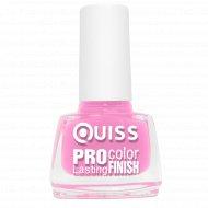 Лак для ногтей «Quiss» Pro Color, 010, 6 мл.