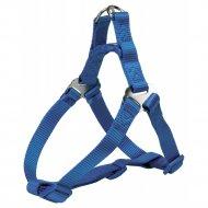 Шлея для собак «Premium One Touch harness» размер XS-S, синий.