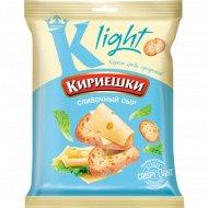 Сухарики хрустящие «Кириешки Light» со вкусом сливочного сыра, 80 г.