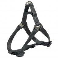 Шлея для собак «Premium One Touch harness» р.М, графит.