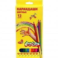 Набор цветных карандашей «Каляка маляка» 12 цветов