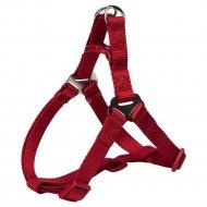 Шлея для собак «Premium One Touch harness» размер М, красный.