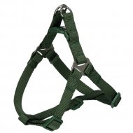 Шлея для собак «Premium One Touch harness» р.М, лес.