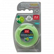 Объемная зубная нить «Splat» с ароматом бергамота и лайма 30 м.
