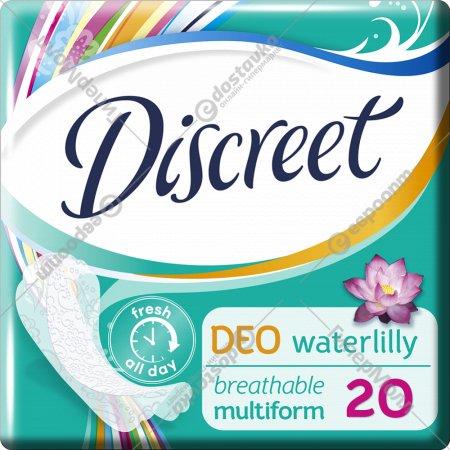 Гигиенические прокладки «Discreet» Deo Water Lily Multiform Single, 20 шт.