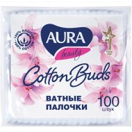 Ватные палочки «Aura Beauty» 100 шт.
