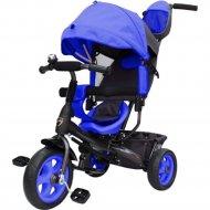 Велосипед детский «GalaXy» Виват 1, с ручкой, синий