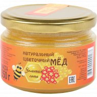 Мед натуральный цветочный «Золотая сота» 350 г.