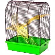 Клетка для грызунов «Бунгало» 2 люкс, 335x230x365 мм.