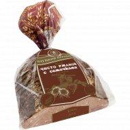Хлеб «Чисто ржаной с семечками» нарезанный, 450 г.
