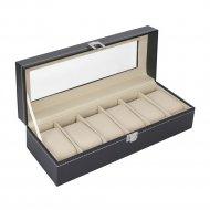 Коробка-шкатулка для хранения часов «SiPL» на 6 пар.