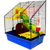 Клетка для грызунов «Вилла» люкс 4, 335x225x385 мм.