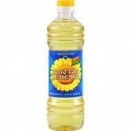 Масло подсолнечное «Золотая семечка» рафинированное, 0,5 л.