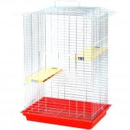 Клетка для грызунов «Шиншилла-Люкс» 565x400x850 мм.
