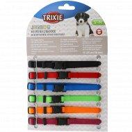 Набор «Trixie» 6 цветных ошейников для щенков, 17-25 см.х10 мм.