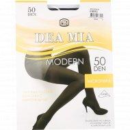 Колготки женские «Dea Mia» Modern, 50 den, размер 4, черный