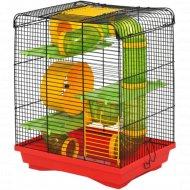 Клетка для грызунов «Хомяк Люкс 3» 335x230x430 мм.