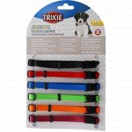 Набор «Trixie» 6 цветных ошейников для щенков, 22-35 смх10 мм.