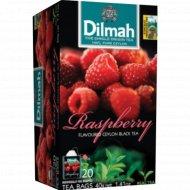 Чай черный «Dilmah» с ароматом малины, 30 г.