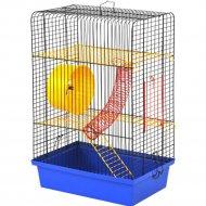 Клетка для грызунов «Хомяк 4» 320x220x490 мм.