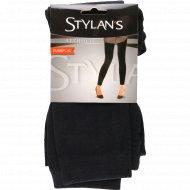 Легинсы женские «Stylan's» размер L/XL, черные