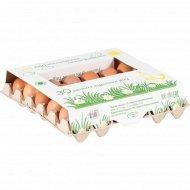 Яйцо куриное пищевое С-1, 30 шт.