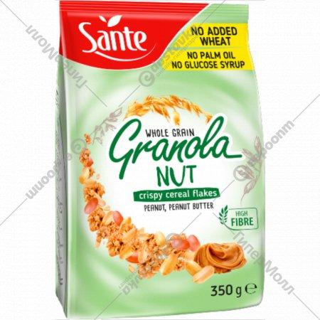 Мюсли хрустящие «Granola» с арахисом и арахисовой пастой, 350 г.