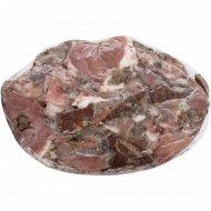 Продукт мясной вареный «Мясо прессованное с лаврушкой» 1 кг, фасовка 0.4-0.6 кг