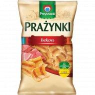 Снеки картофельнo-пшенично-кукурузные со вкусом бекона, 140 г.