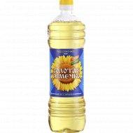 Масло подсолнечное «Золотая семечка» рафинированное, 1000 мл