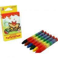 Мелки-карандаши восковые «Кроха» 6 цветов.
