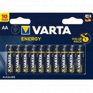 Элемент питания алкалиновый «Varta Energy» AA VP 10.