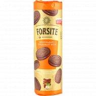 Печенье сахарное «Forsite» шоколадно-ореховый вкус, 208 г.