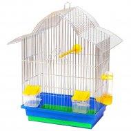 Клетка для птиц «Мальва» 330x230x450 мм.
