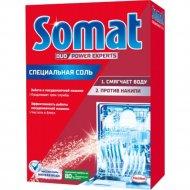 Соль для посудомоечной машины «Somat» Соль, 1.5 кг.