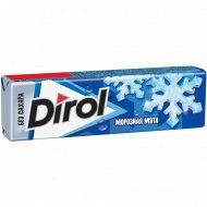 Жевательная резинка «Dirol» морозная мята 13.6 г