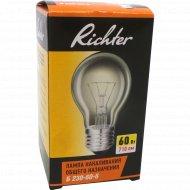 Лампа накаливания «Richter» 60 Вт.